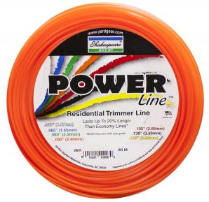 Powerline® trimmer line was developed for the residential user looking for the perfect blend of value and performance!  Tests have shown that this product performs better and lasts longer than most other economy trimmer lines.